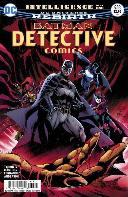 Detective Comics #958 cover