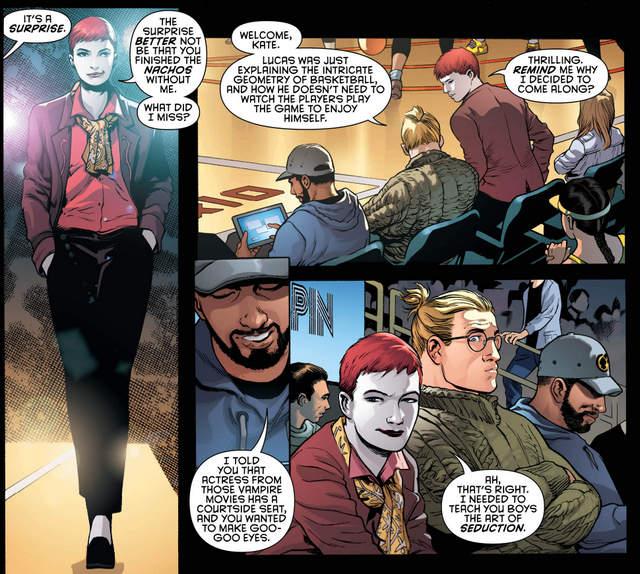 Detective Comics #958 interior art