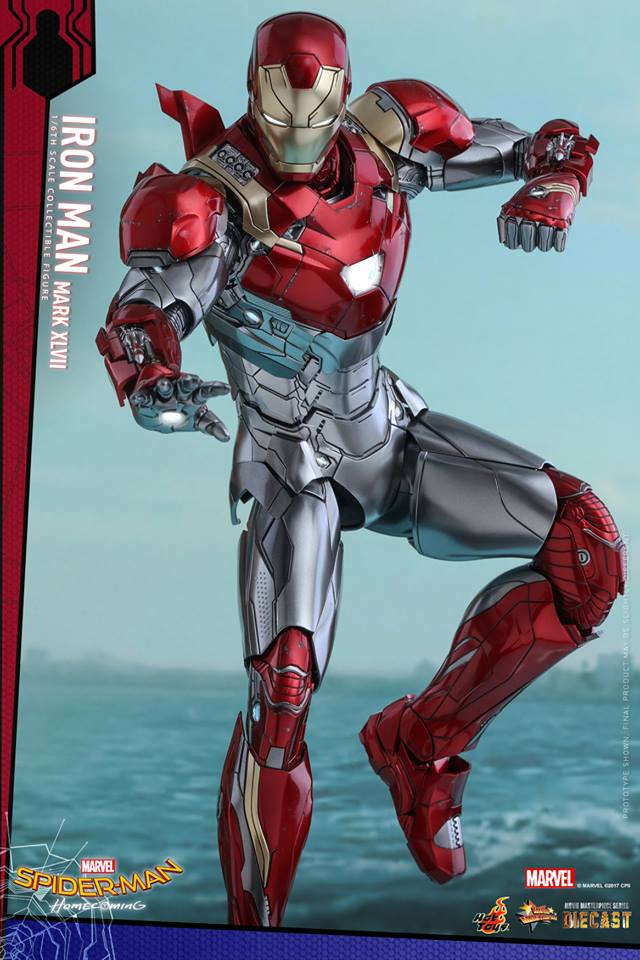 Hot Toys Debuts Spider-Man Homecoming Iron Man Mark 47 Figure-9197