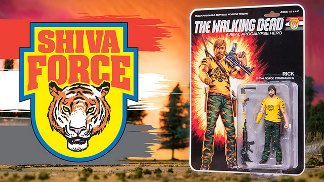 SDCC 2017 exclusive Shiva Force The Walking Dead - Rick Grimes