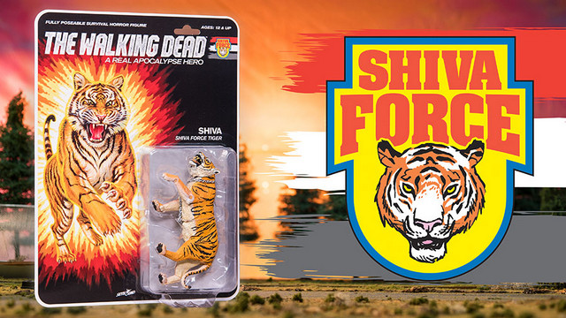 SDCC 2017 exclusive Shiva Force The Walking Dead - Shiva