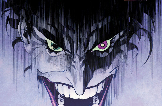 Batman The Joker White Knight main art