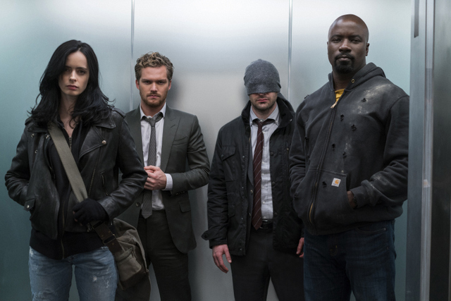 Defenders - Jessica Jones, Iron Fist, Daredevil and Luke Cage with Stan Lee narration