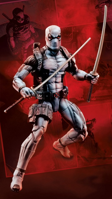 HASCON 2017 Marvel Legends 6-Inch Uncanny X-Force Deadpool Figure