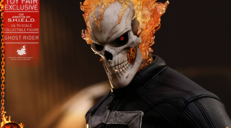 Hot Toys Agents of SHIELD Ghost Rider figure - profile pic
