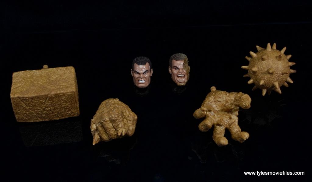 Marvel Legends Sandman figure review - accessories