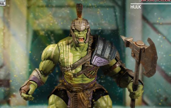 Mezco Toyz SDCC 2017 Preview Night One 12 Hulk from Thor Ragnarok