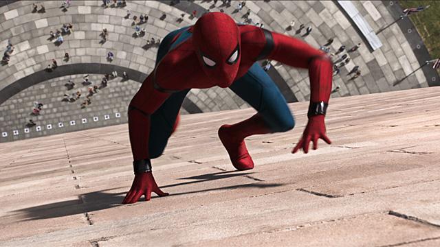 Spider-Man Homecoming - Spider-Man wall crawling $117M debut