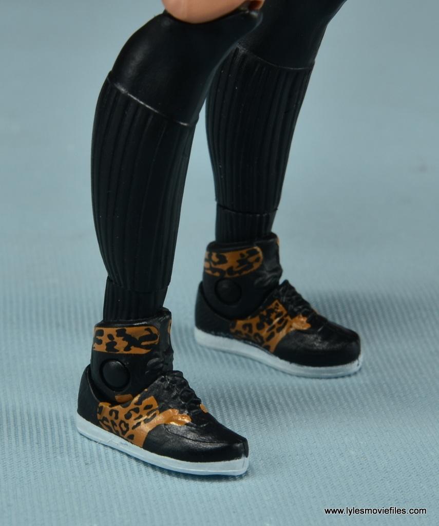 WWE Carmella figure review - shoe detail