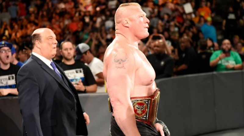 WWE Great Balls of Fire Paul Heyman and Brock Lesnar