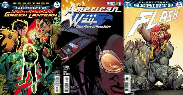 DC Comics reviews for 7/12/17