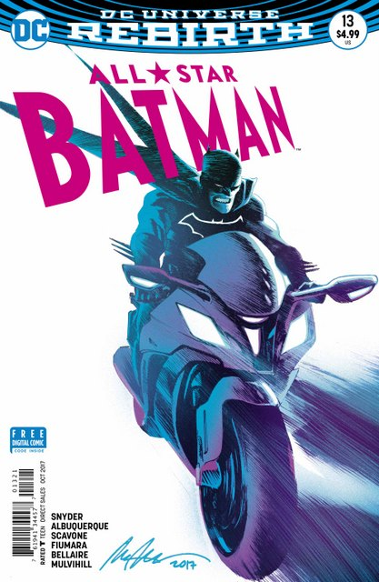All-Star Batman #13 cover