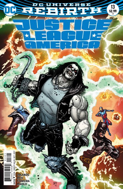 Justice League of America #13 cover