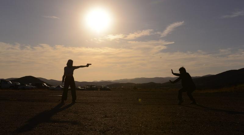 Karate Kill - Keiko and Kenji training