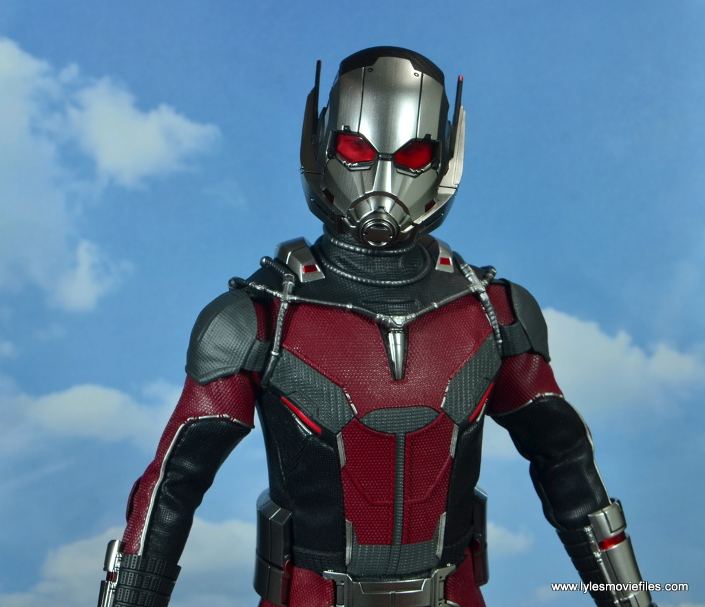hot toys captain america civil war ant-man figure review -in the clouds