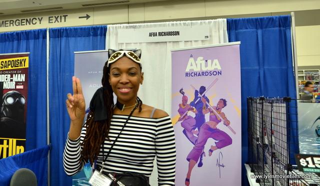 Baltimore Comic Con 2017 - creators showcase - Afua Richardson