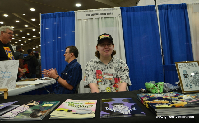 Baltimore Comic Con 2017 - creators showcase - Jerry and Rachel Ordway