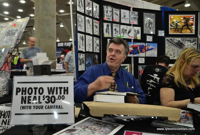Baltimore Comic Con 2017 - creators showcase - Neal Adams talking