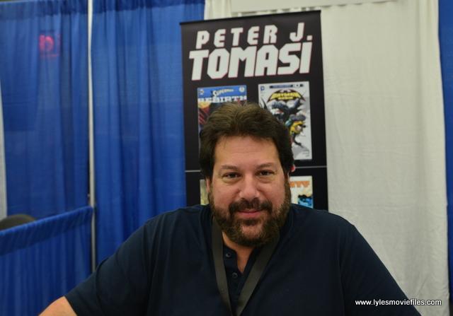 Baltimore Comic Con 2017 - creators showcase - Peter J. Tomasi