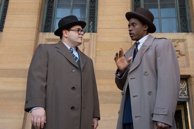 Marshall-movie-review-Josh-Gad-and-Chadwick-Boseman