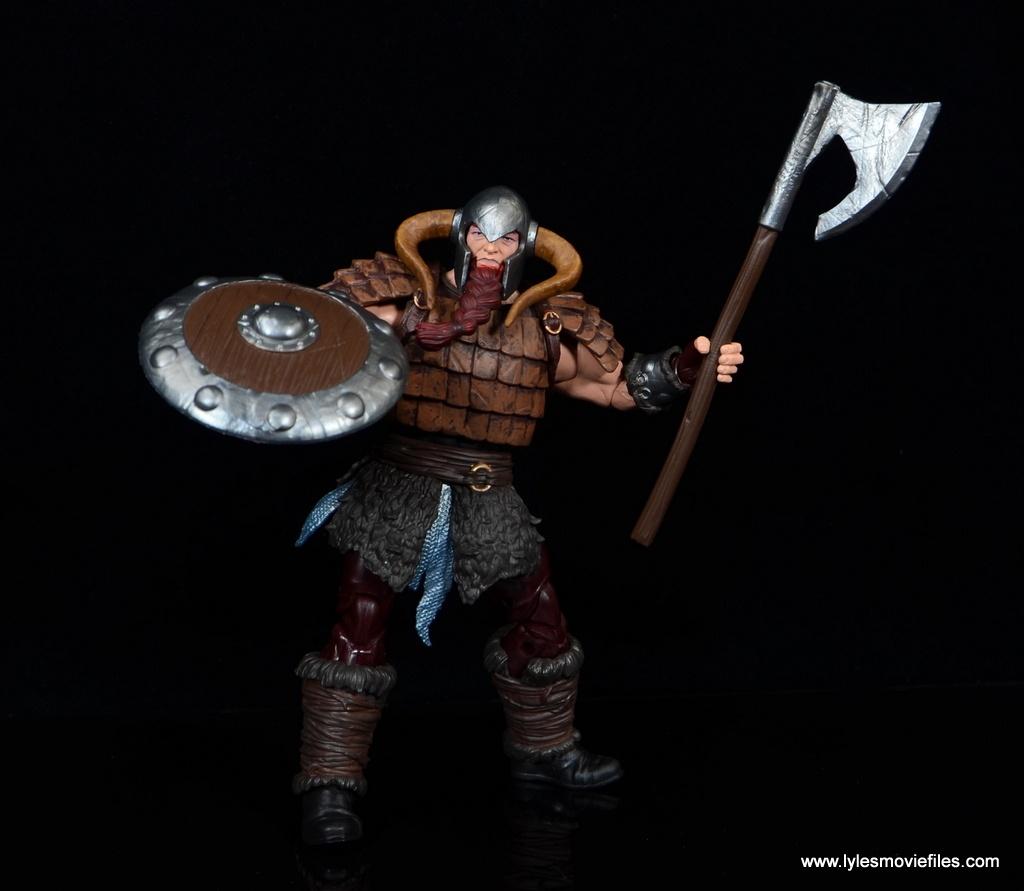 SDCC 2017 Marvel Legends Battle for Asgard figure review - Bor ready for battle