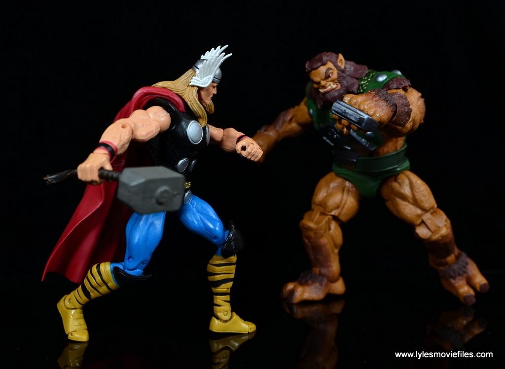 SDCC 2017 Marvel Legends Battle for Asgard figure review - Thor vs Ulik