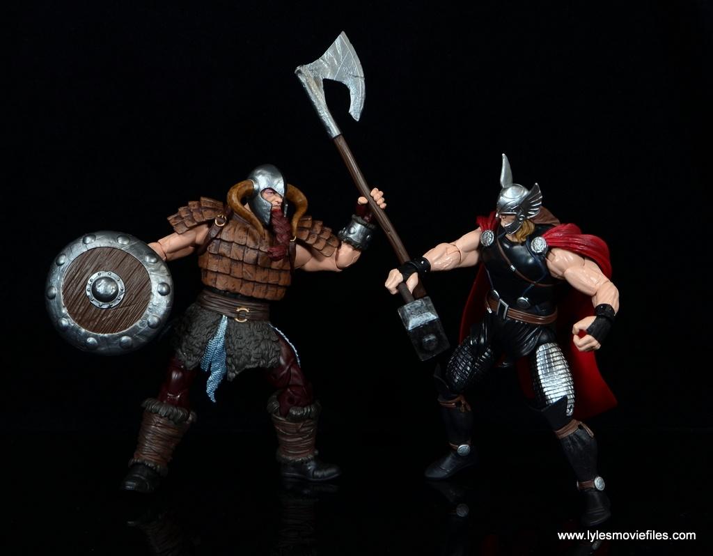 SDCC 2017 Marvel Legends Battle for Asgard figure review - vs Thor
