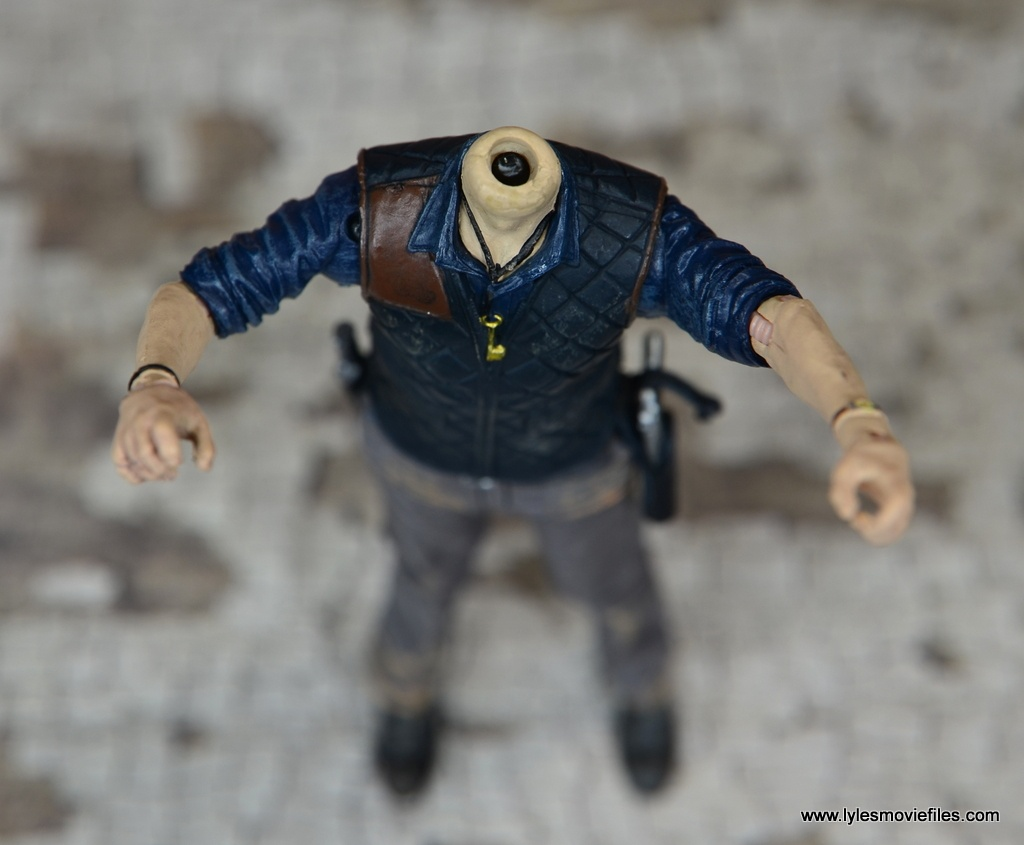The Walking Dead The Governor TV Series figure review -broken neck peg