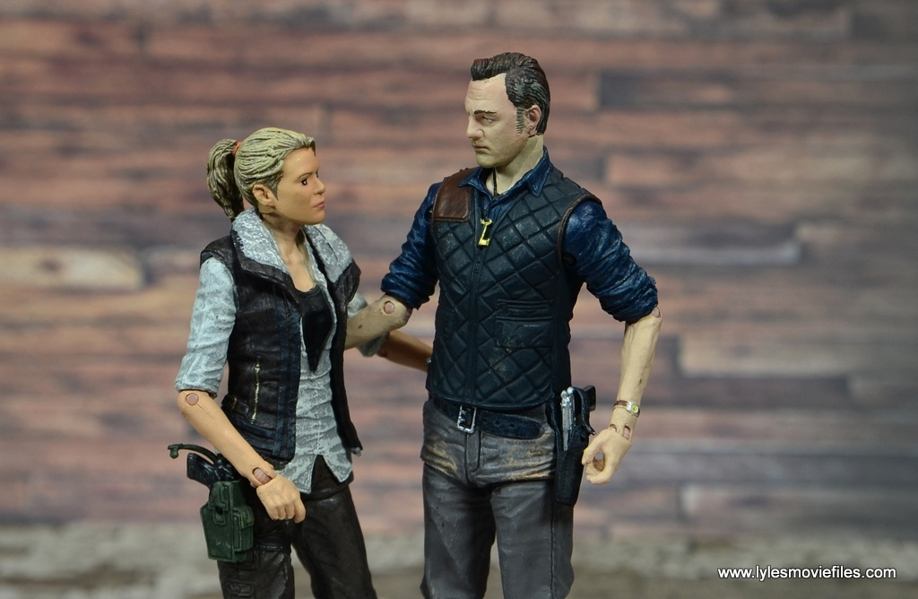The Walking Dead The Governor TV Series figure review -with Andrea