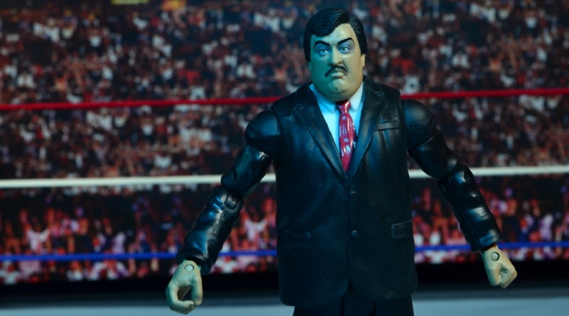 WWE Paul Bearer figure review -main pic