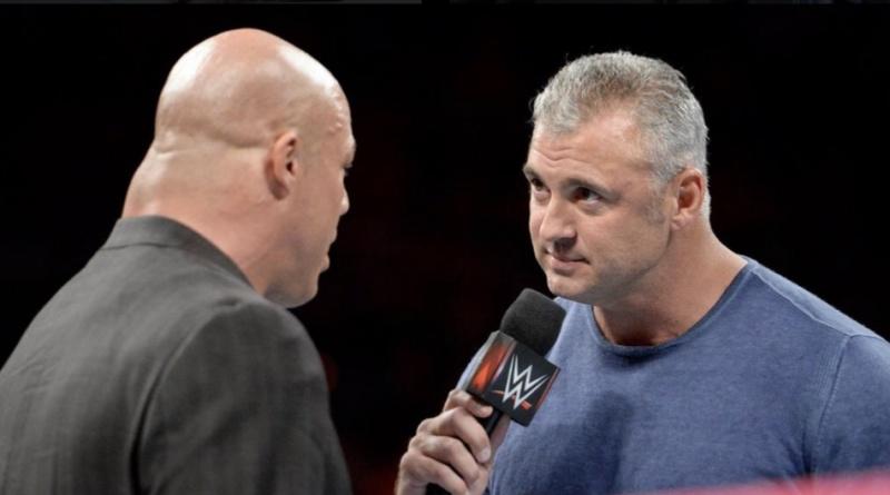 Under Siege - Shane McMahon warns Kurt Angle