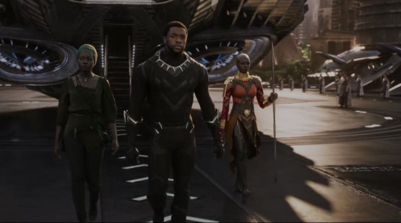 New Black Panther trailer - Black Panther and Dora Mijae