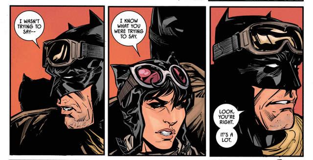 Batman #34 interior art