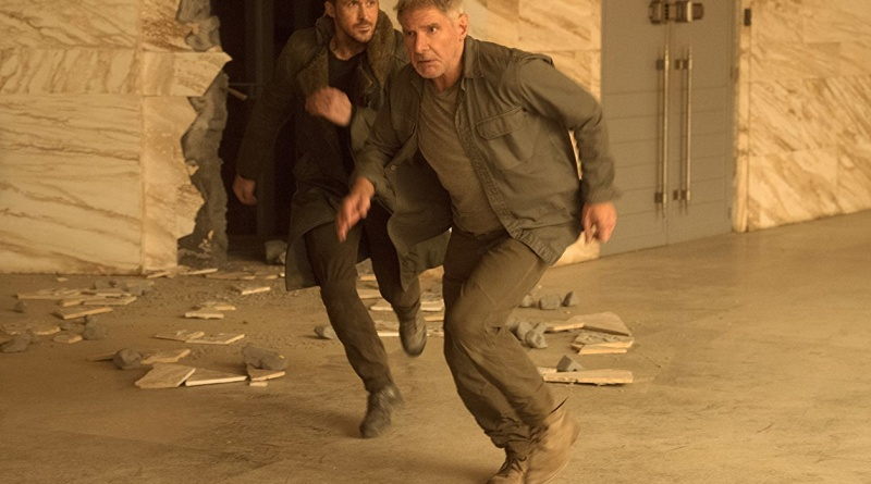 Blade Runner 2049 giveaway - Ryan Gosling and Harrison Ford