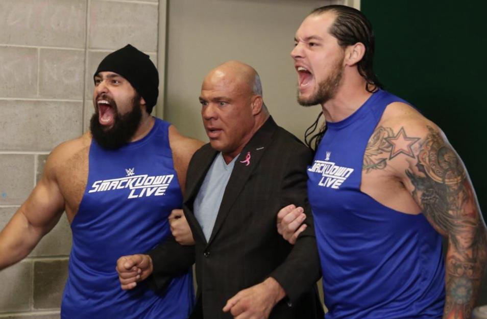 Under Siege - Rusev and Baron Corbin have Kurt Angle