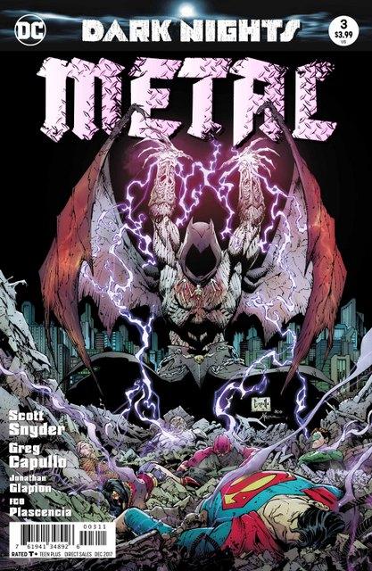 Dark Night Metal #3 cover