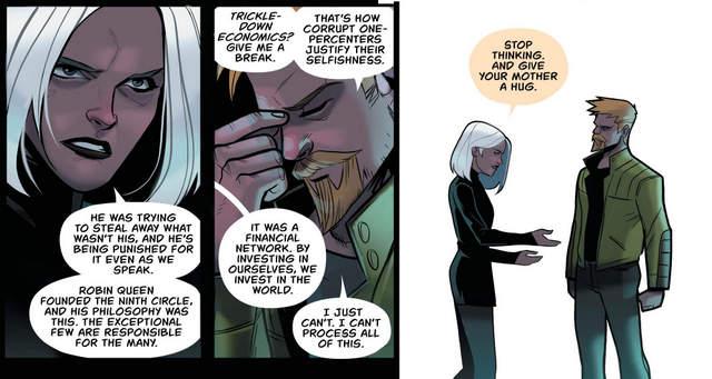 Green Arrow #34 interior art