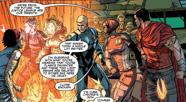 Justice League #30 interior art