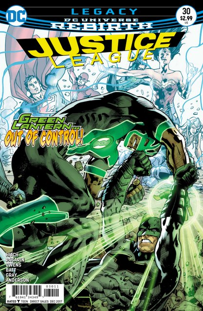 Justice League #30 cover