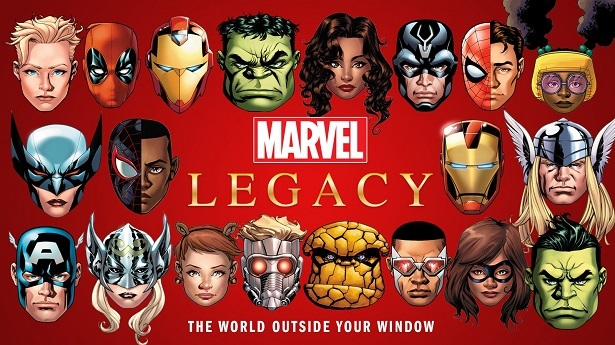 Marvel Legacy faces