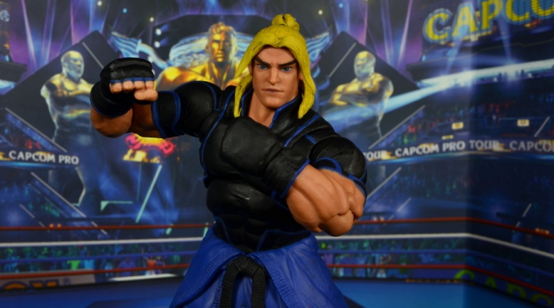 Storm Collectibles Street Fighter V Ken figure review - main pic