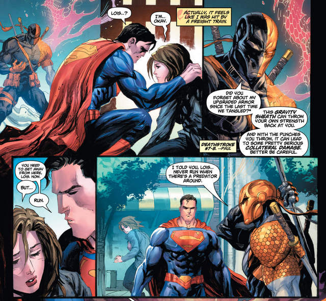 Superman #32 interior art