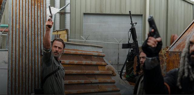 The Walking Dead Mercy Rick, Jesus and Ezekiel