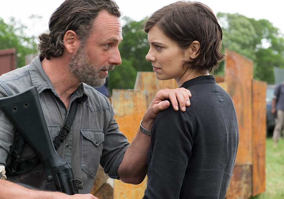 The Walking Dead Mercy review - Rick and Maggie