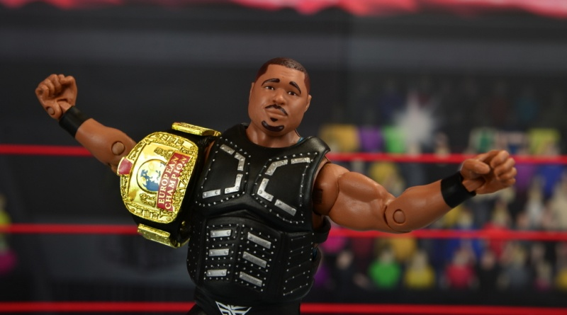 WWE Elite D-Lo Brown figure review -main shot