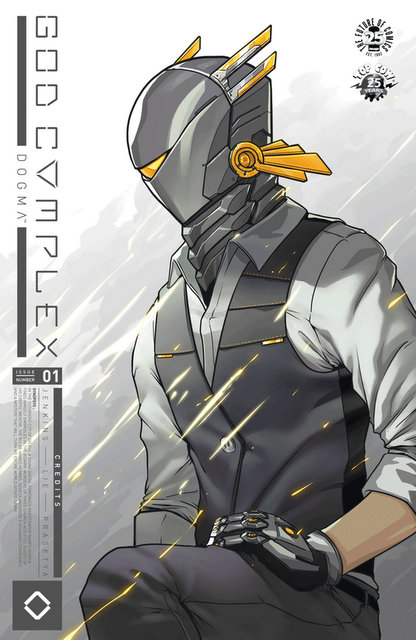 god complex #1 cover