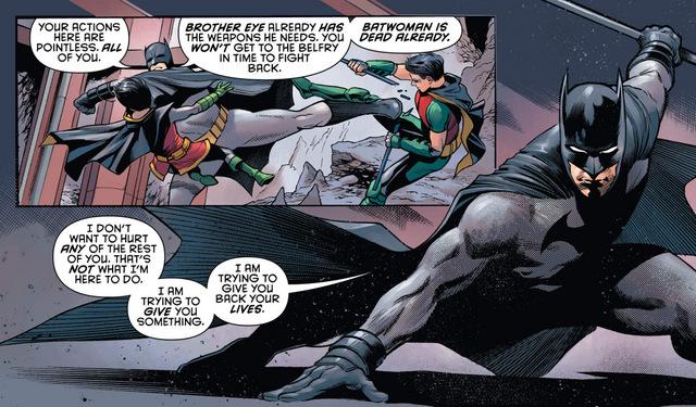 Detective Comics #968 interior art