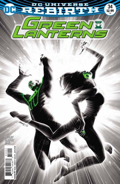 Green Lanterns #34 variant cover