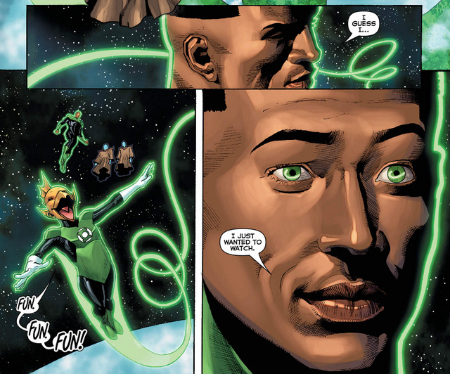 Hal Jordan and the Green Lantern Corps #33 interior art