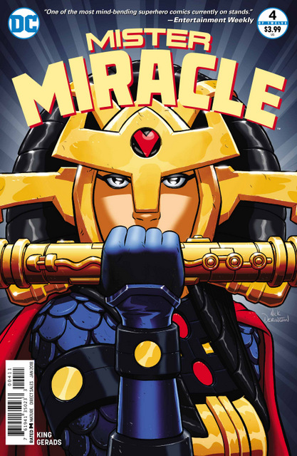 Mister Miracle #4 cover